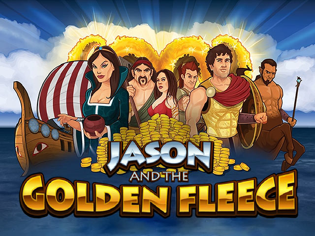Video slotu spēle Jason and the Golden Fleece